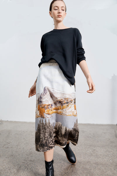 Wrap Skirt - Washington Print PRE- ORDER  Delivery May 16th