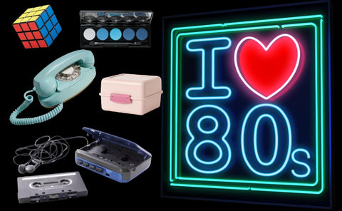 Shop for authentic 1980's memorabilia, gifts, decor and fashions at Pink Elephant Relics.