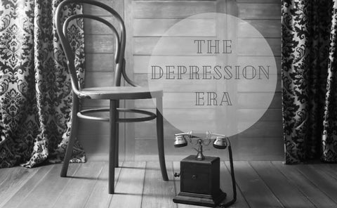 Authentic decor and memorabilia from the 1930's, the era of The Great Depression.