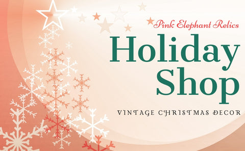 Vintage Christmas and Seasonal Winter Decorations and Decorating Supplies.