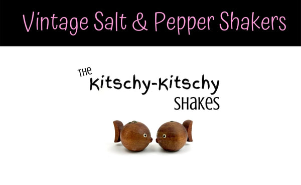 Shop for vintage salt and pepper shaker sets, from classic to kitsch.