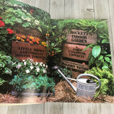 3 Crockett's Gardening Books - Tool Shed, Indoor Garden & Flower Gardening First Edition Paperback - DIY Landscaping Home Repair Book Set