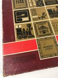 1964 Monopoly Game in Red Box - Vintage Board Games from the 1960's - Real Retro Family Game Night Board Games - Rare Vintage Monopoly Game