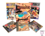3 New Vintage Softkey Computer Software Cd-Roms Windows 95 or 3.1- Explorers of the New World, Multipedia & Infopedia - Encyclopedia Program