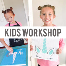 Load image into Gallery viewer, Kids Workshop | 2.18.20 | 10:00am-10:30am Timeslot