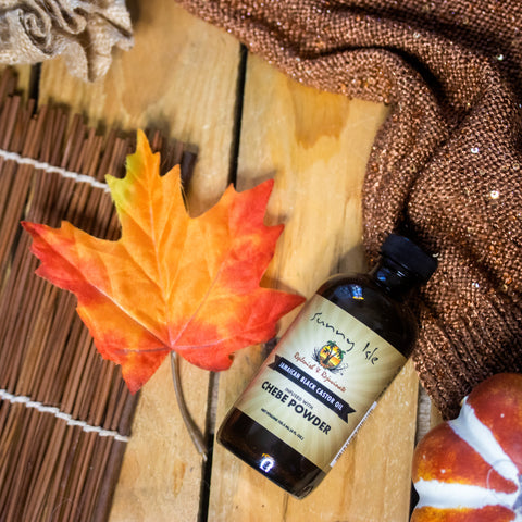 SUNNY ISLE Jamaican Black Castor Oil infused with Chebe Powder