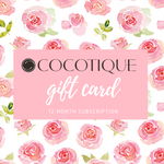 COCOTIQUE Beauty Box 12 Month Gift