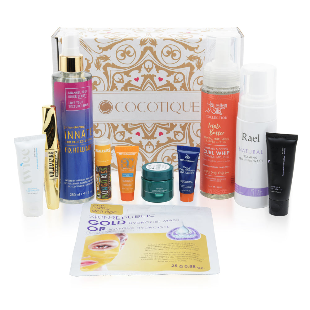 COCOTIQUE JANUARY 2021 BOX