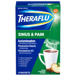 THERAFLU Theraflu Multi-symptom Severe Cold Hot Liquid Powder – Assorted