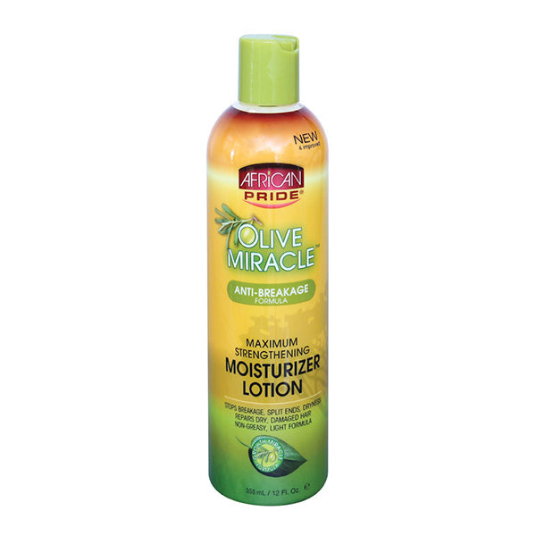 African Pride Olive Miracle Moisturizing Lotion