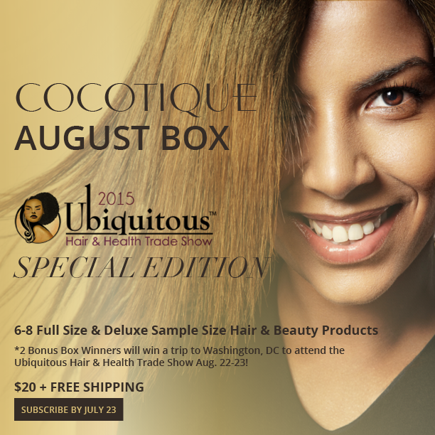 COCOTIQUE Box - August 2015