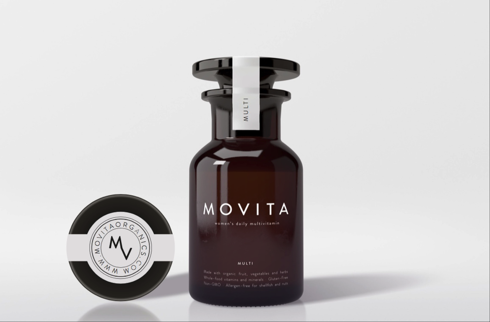 MOVITA ORGANICS One-A-Day Multivitamin