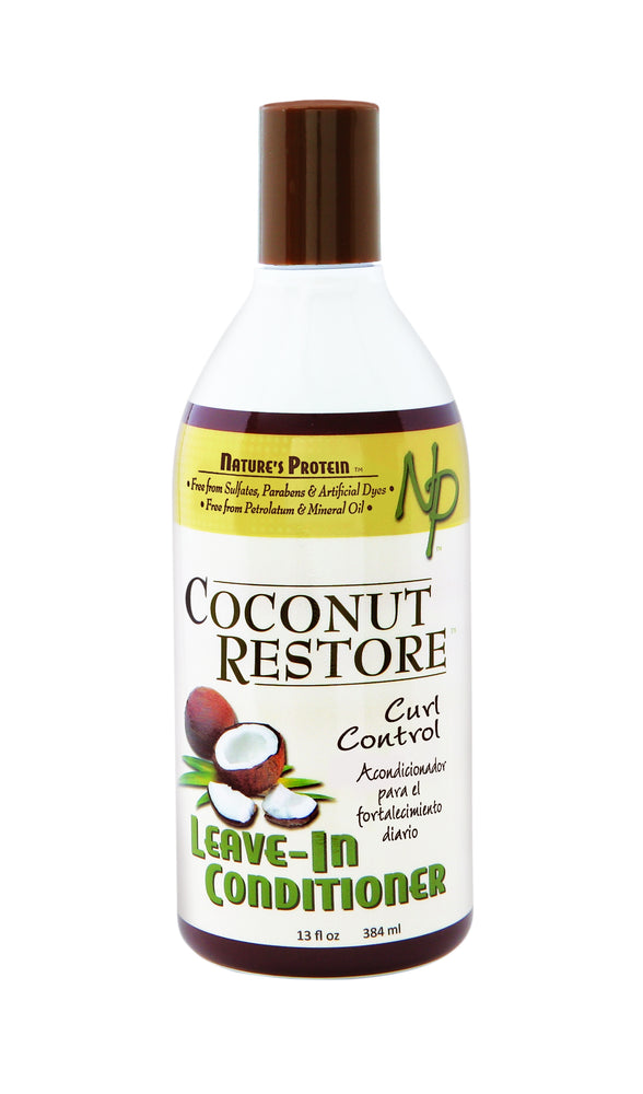 COCONUT RESTORE Curl Control Leave-In Conditioner