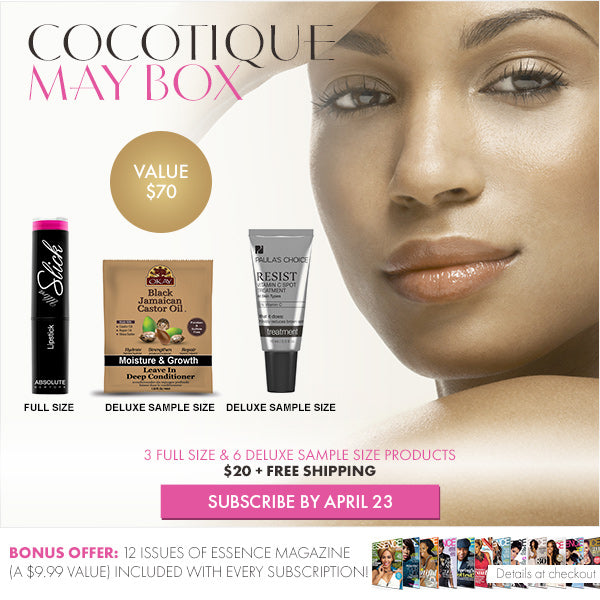 COCOTIQUE Box - May 2015