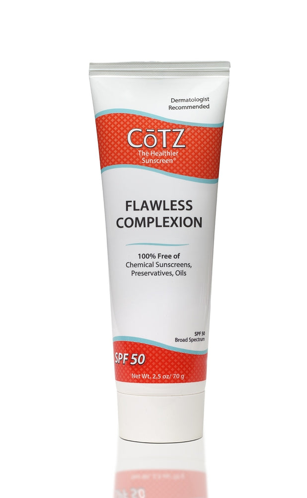 COTZ Flawless Complexion 50 SPF Sunscreen