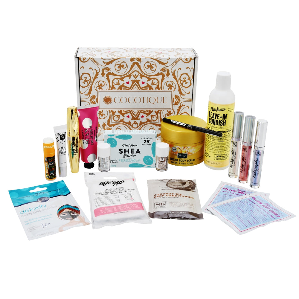 COCOTIQUE DECEMBER 2019 BOX
