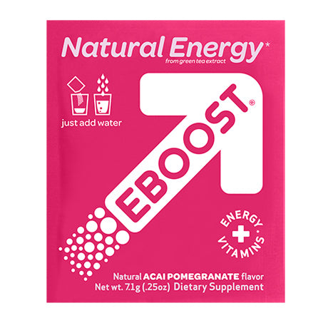 EBOOST - ACAI POMEGRANATE EFFERVESCENT POWDER