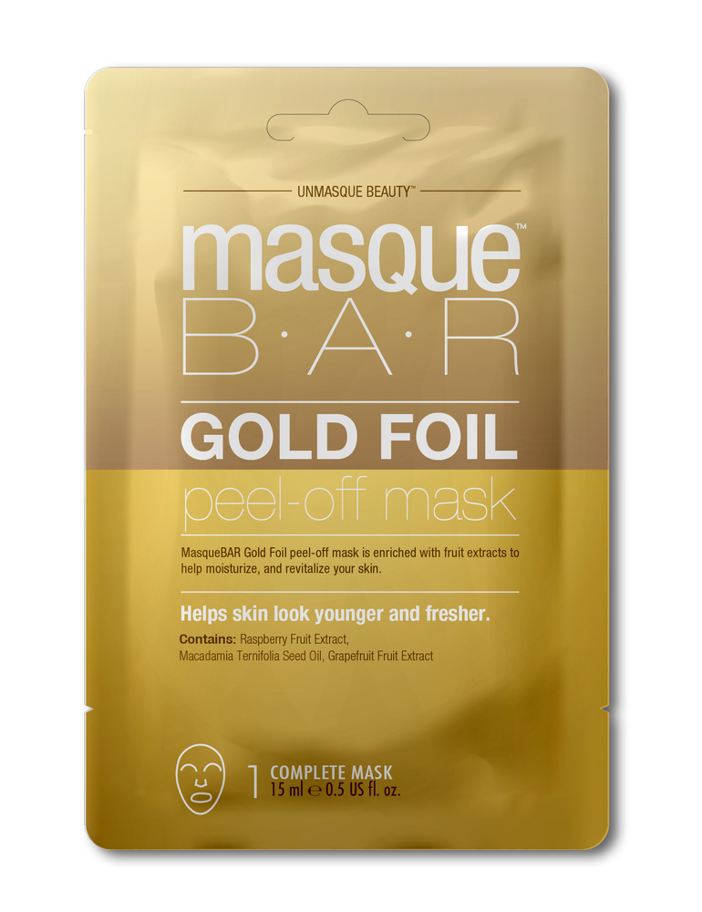 MasqueBAR Gold Foil Peel-Off Mask