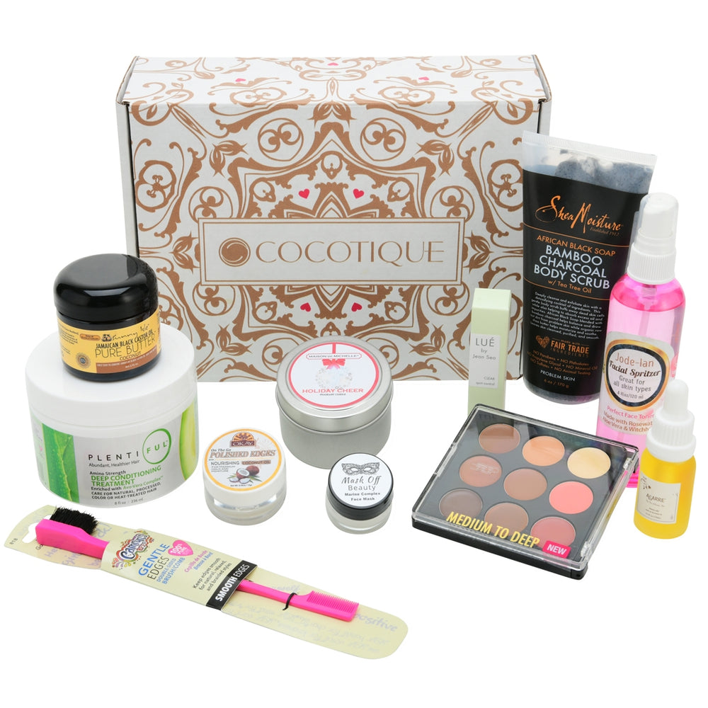COCOTIQUE Box - HOLIDAY LIMITED EDITION BOX 2018