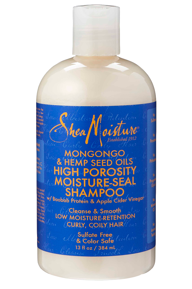 SheaMoisture Mongongo & Hemp Seed High Porosity Moisture-Seal Shampoo