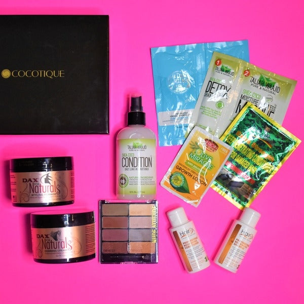 COCOTIQUE Box - January 2018