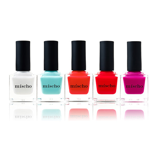 Mischo Beauty Luxury Nail Lacquer Icons Collection
