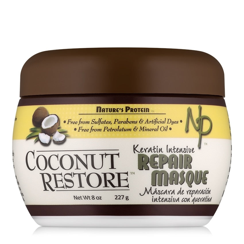 COCONUT RESTORE Keratin Intensive Repair Masque