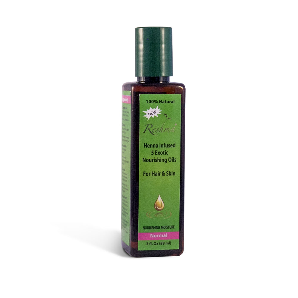 RESHMA BEAUTY Henna-Infused Oil for Normal to Dry Hair & Skin