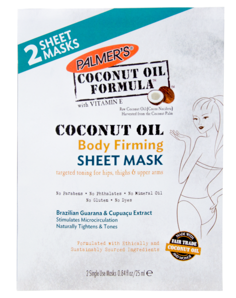 PALMER'S – Coconut Oil Formula Body Firming Sheet Mask