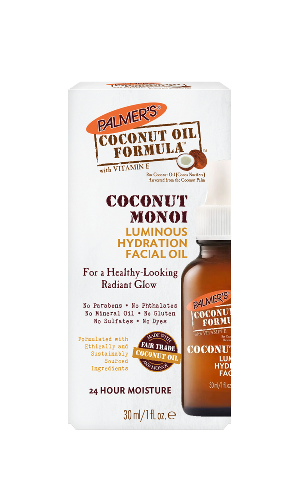 PALMER'S Coconut Oil Formula Coconut Monoi Luminous Hydration Facial Oil