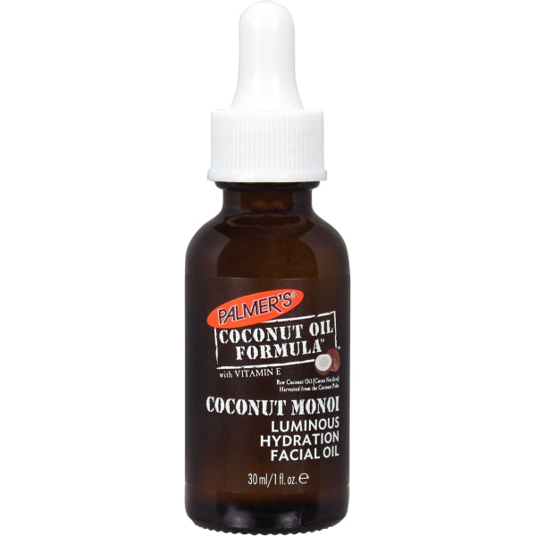 PALMER'S Coconut Oil Formula Coconut Monoï Luminous Hydration Facial Oil