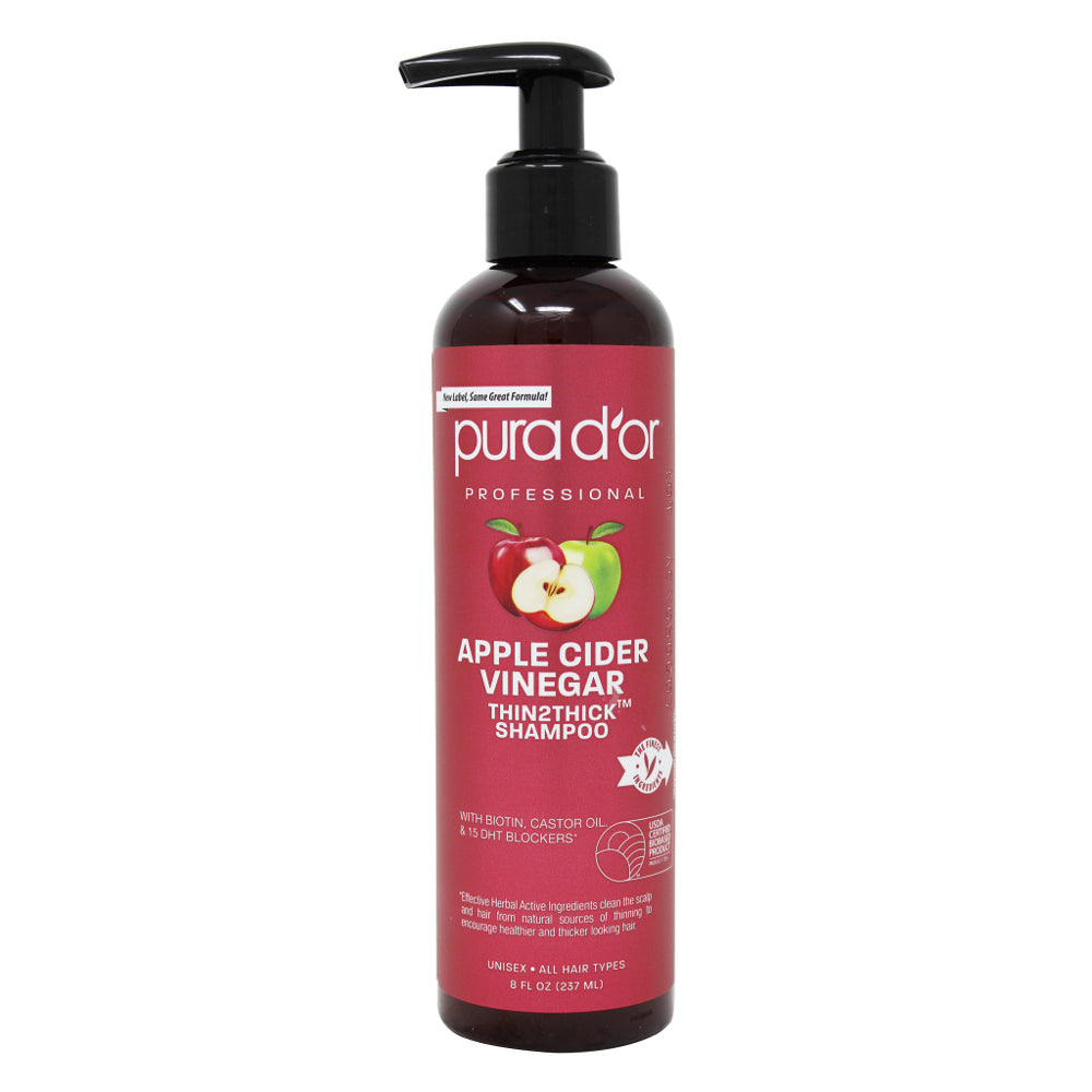 PURA D'OR PROFESSIONAL Apple Cider Vinegar Thin2Thick Shampoo