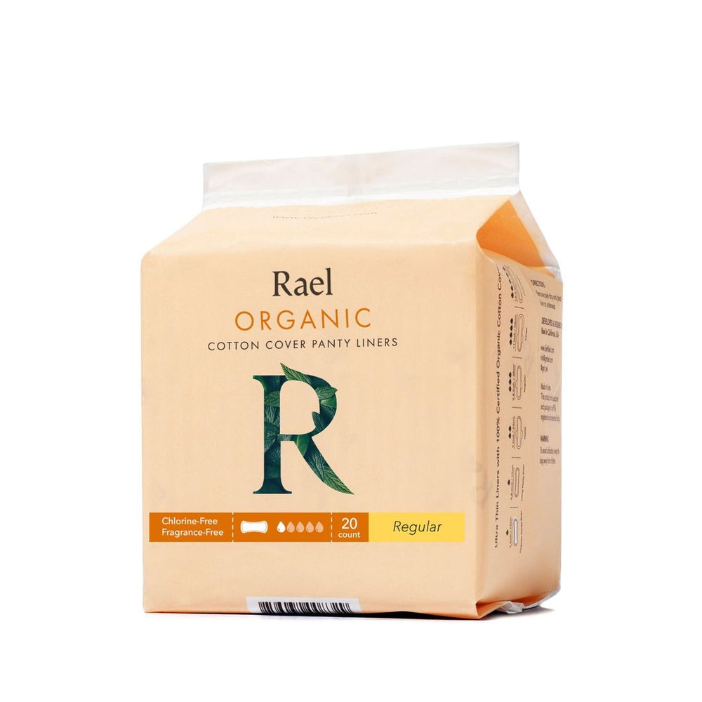 RAEL Organic Cotton Cover Panty Liners