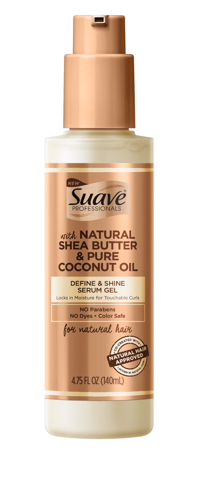 SUAVE PROFESSIONALS FOR NATURAL HAIR Define & Shine Gel Serum