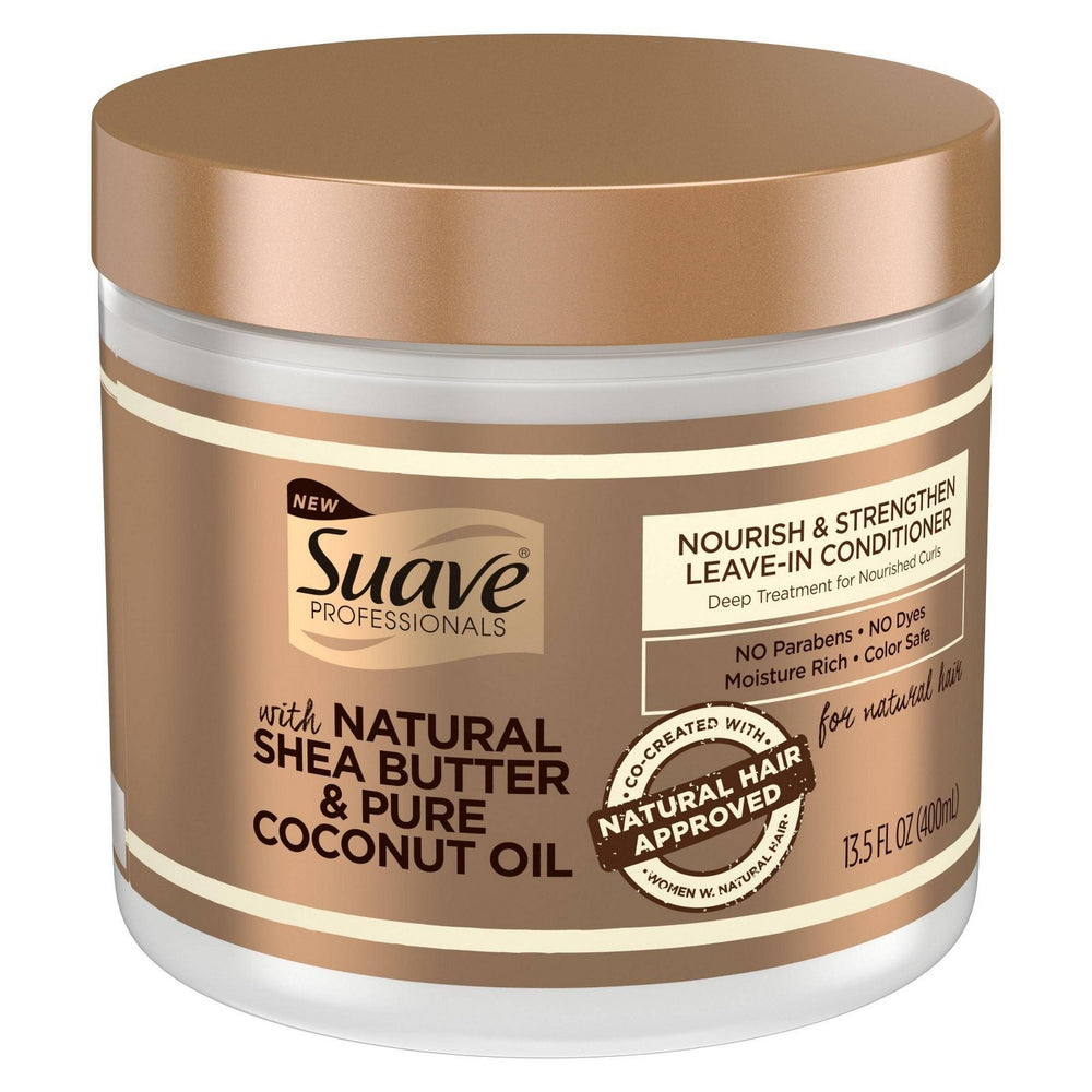 SUAVE PROFESSONALS FOR NATURAL HAIR Nourish and Strengthen Leave-In Conditioner