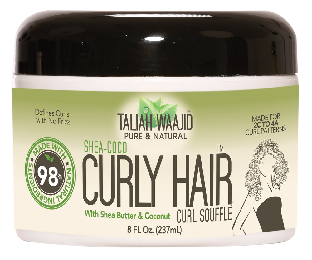 TALIAH WAAJID Pure & Natural Shea-Coco Curly Hair Souffle for 2C-4A Hair
