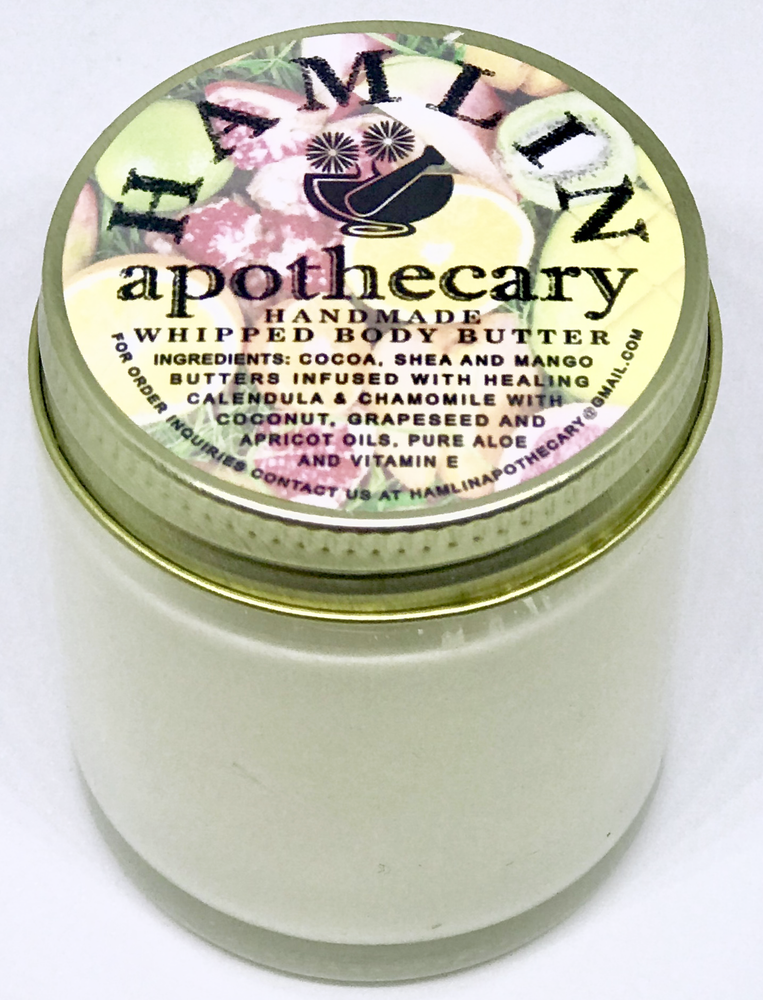 HAMLIN APOTHECARY Tropical Citrus Whipped Body Butter