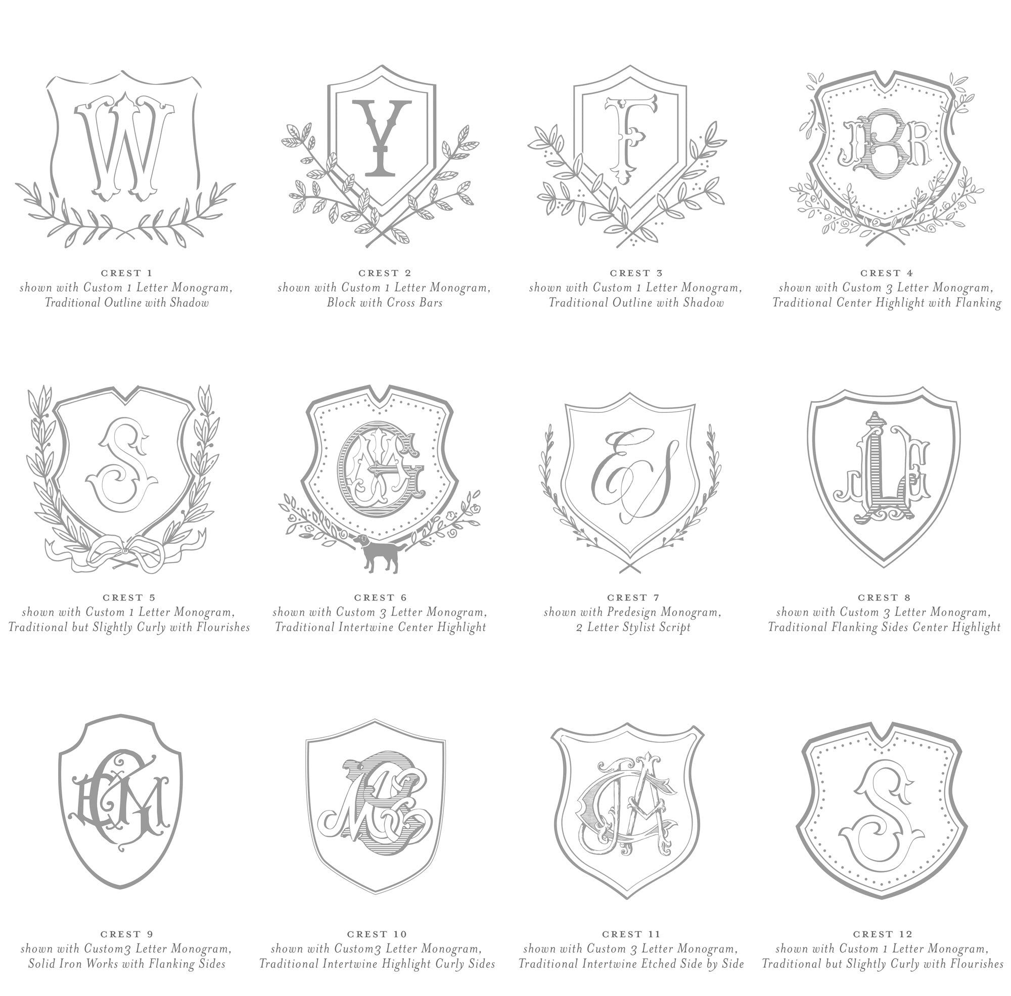 Weezie B. Designs | Custom Crests