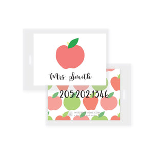 Apple Bag Tag