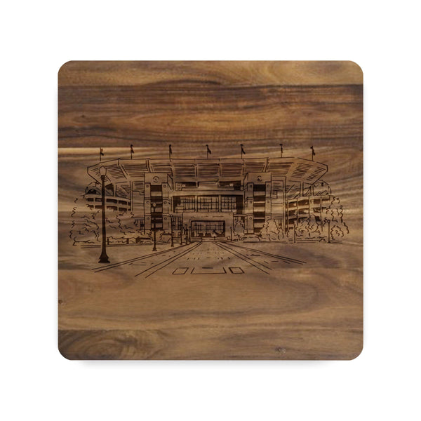 Bryant Denny Stadium Sketch Cutting Board