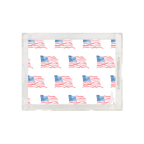 American Wave Pattern Tray