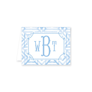 Weezie B. Designs | Watercolor Bamboo Folded Note Card