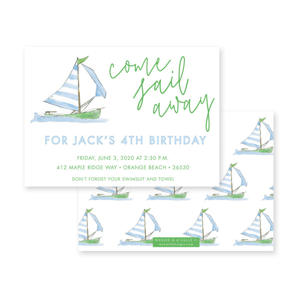 Come Sail Away Birthday