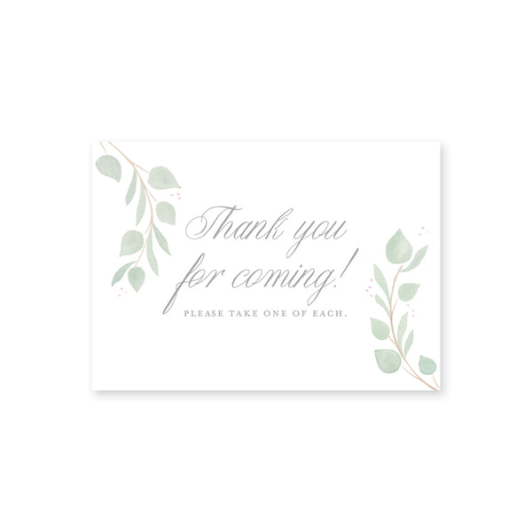 Weezie B. Designs | Eucalyptus Laurel Small Sign