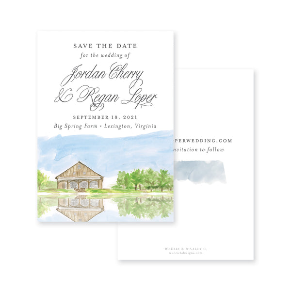 Farm Formal Save-the-Date