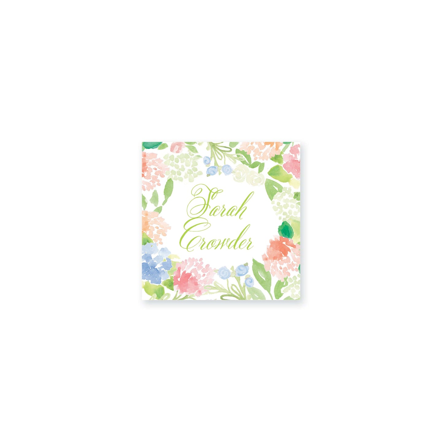 Weezie B. Designs | Floral With An Edge Vinyl Sticker
