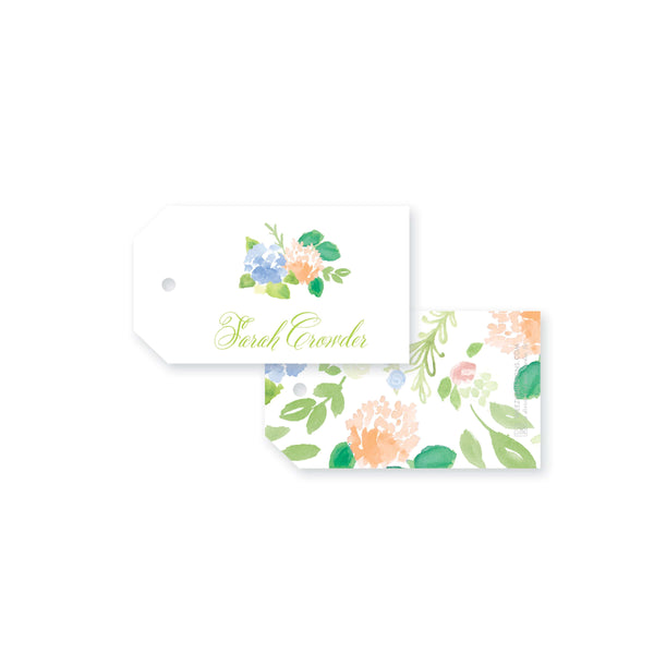 Weezie B. Designs | Floral With An Edge Gift Tag