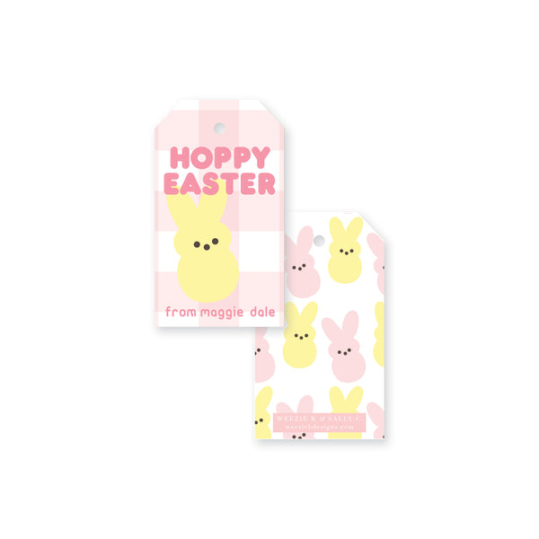 Hoppy Easter Gift Tag