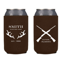 Load image into Gallery viewer, Hunting Camp In The Woods Koozie