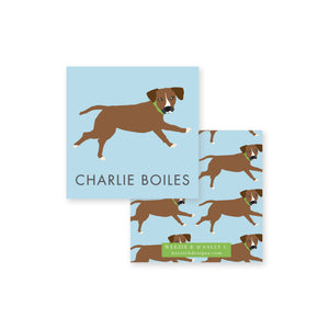 Dog Illustrated Calling Cards